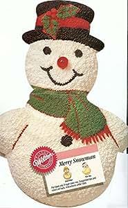 Amazon Com Wilton Merry Snowman Christmas Holiday Cake
