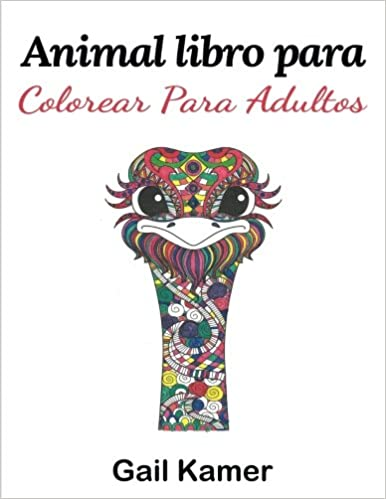 Amazon.com: Animal Libro Para Colorear Para Adultos (Spanish Edition) (9781544072913): Gail Kamer: Books