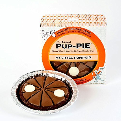 Lazy Dog Cookie Company Original Pup-PIE Dog Treat (My Little (Halloween Dipped Cookies)