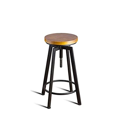 Bar Stools with Wooden Seats