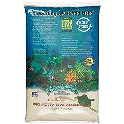 Worldwide Imports AWWA10731 Live Aragonite Fine Sand, 20-Pound