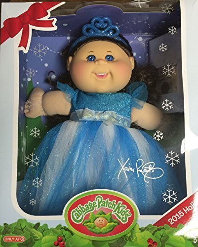 Cabbage Patch Kids 2015 Holiday Exclusive - Blue Eyes, Brown Hair, Blue Dress