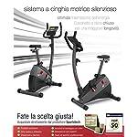 Sportstech-Ergometro-ESX500-Marchio-di-qualita-Tedesco-Eventi-Video-e-Multiplayer-App55-Display-Volano-da-12KG-Compatibile-Cintura-pulsazioni-Cyclette-silenziosa