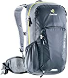 Deuter Bike I 20 Men's 20 Liter Backpack with Breathable Back and Adjustable Straps | Hydration Compatible, Rain Cover, and Compartments for Hiking, Skiing, Biking, and School - Black