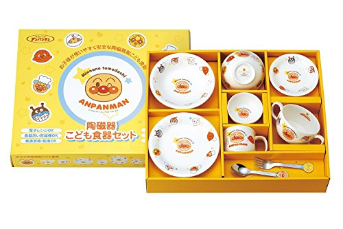 Anpanman children tableware gift set L (japan import) by Anpanman