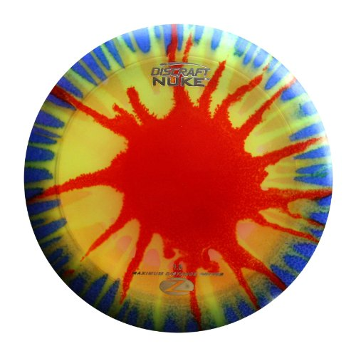 Discraft Nuke Elite Z Fly Dye Golf Disc, 173-174 ()