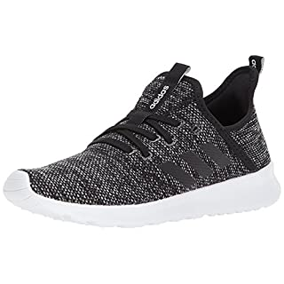 adidas Women's Cloudfoam Pure Running Shoe, Black/Black, 5.5 Medium US