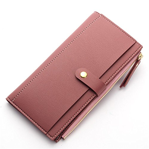 OnIn Fashion Women Clutch Wallets Money Bag Card Holder WWS049 RoseOne Size