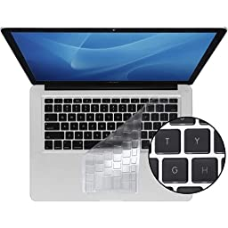 KB Covers ClearSkin Keyboard Cover for MacBook/MacBook Air 13-Inch/MacBook Pro - Unibody - ClearSkin-M-US