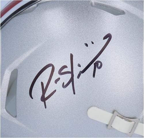Ryan Shazier Ohio State Buckeyes Autographed Riddell Speed Mini Helmet Autographed College Mini Helmets