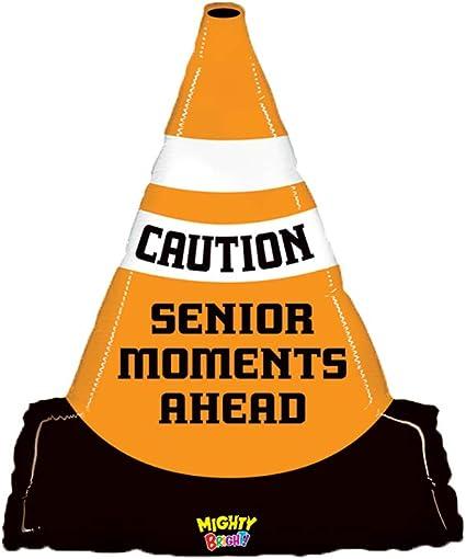 caution senior moments ahead