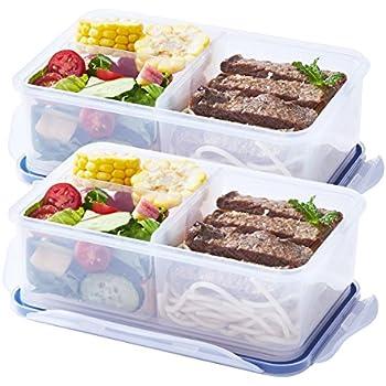 Amazon.com: Airtight Bento Lunch Box Containers Kids
