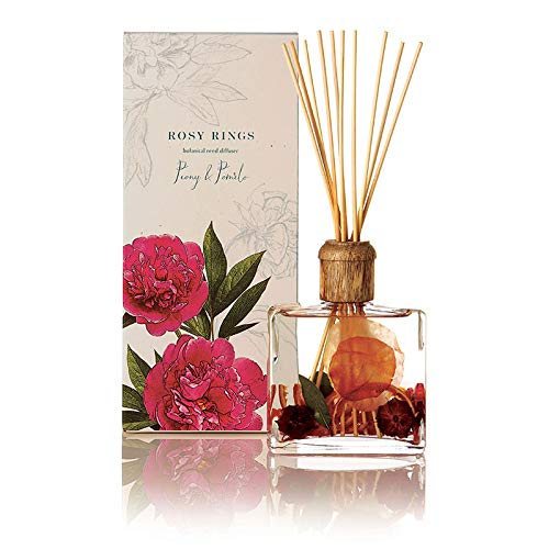 Rosy Rings Botanical Reed Diffuser - Peony and Pomelo by Rosy Rings (Image #2)