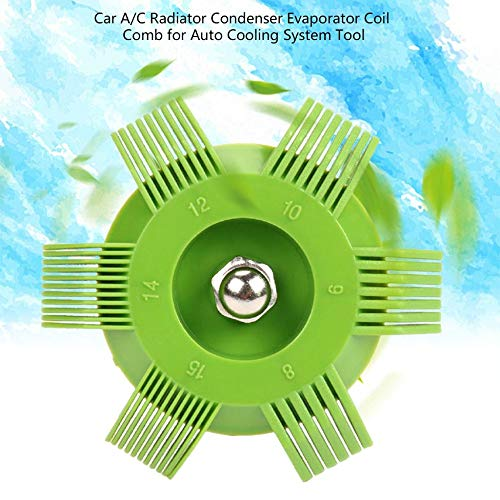 ClookYuan Universal en Plastique de Voiture A//C radiateur condensateur /évaporateur aileron redresseur Bobine Peigne pour Outil de syst/ème de Refroidissement Automatique Vert et Rouge
