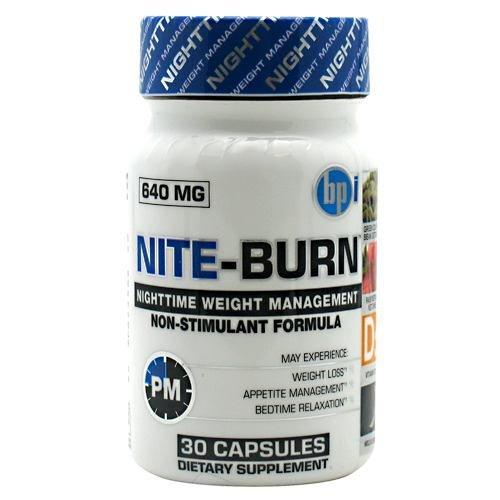 BPI Nite-Burn - 30 Capsules