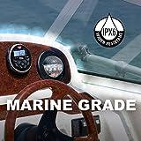 BOSS Audio Systems MGR350B Marine Gauge Receiver