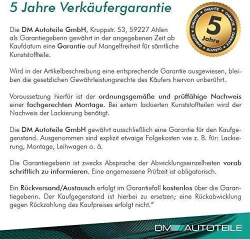 DM Autoteile Doppelsteg K/ühlergrill Schwarz GLANZ Performance passt f/ür 5er F07 GT 08-17