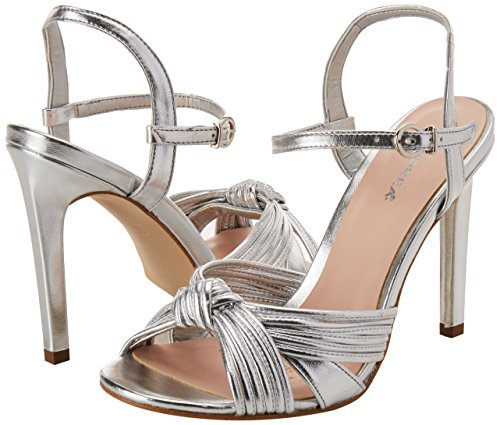 de para Zapatos Mujer 2451848 Plata Tacón Andrea I8CwExq5