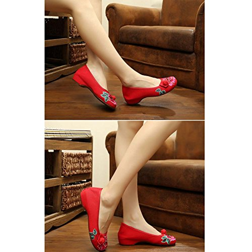 Chaussures 04 Chinoises Vintage Embroidered Cheongsam Chaussures Design rrzY6qw