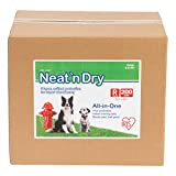 "IRIS Neat 'n Dry Premium Pet Training Pads, Regular, 17.5"" x 23.5"", 200 Count"