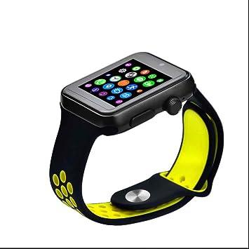 Monitores de Actividad Relojes Deportivo Fitness Bluetooth,Rastreador de Ejercicios,notificaciones de mensajes,