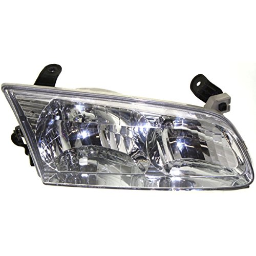 Diften 102-A8077-X01 - Bumper Cover + Hood + Left & Right Side Fenders & Headlights 6pcs Auto Body Kit