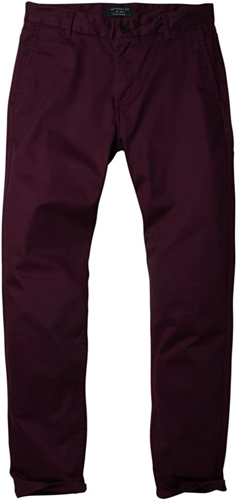 Match Mens Slim Stretchy Casual Trousers #8050