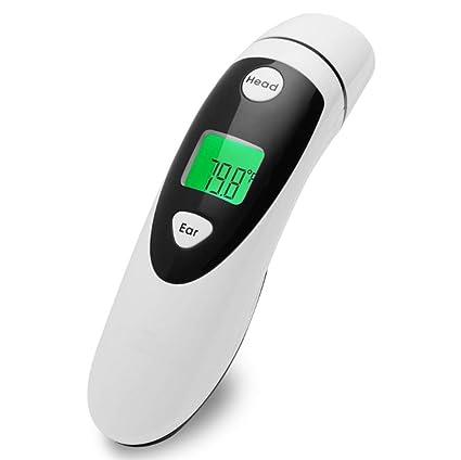 Zhangmin Termómetro Electrónico-Temperatura Infrarroja-Termómetro del Oído De La Pistola-Termómetro Infrarrojo