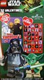 Lego Star Wars Force Darth Vader 32 Valentine Cards with Stickers and Teachers Card