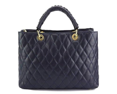 Florence Leather Market Borsa a mano in pelle, Damen