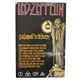 Led Zeppelin Stairway to Heaven Lyrics Glossy Wall Poster