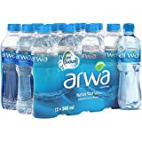 Arwa Water Bottles , 12 X 500ML