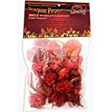 Dried Trinidad Scorpion Chili Pepper .25oz of the Hottest Pepper in the World