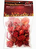 Dried Trinidad Moruga Scorpion Pepper Pods, .25 Ounce