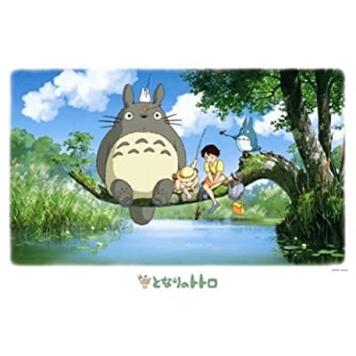 ensky My Neighbor Totoro Fishing Jigsaw Puzzle (1000-Piece): Toys & Games