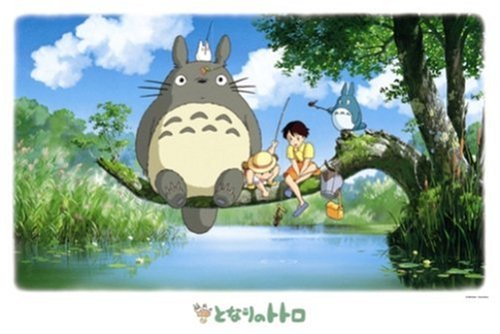 [Ensky My Neighbor Totoro Fishing Jigsaw Puzzle (1000-Piece)] (Dance Studio Costumes Companies)
