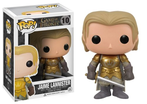 Game of Thrones - Figura con Cabeza movil Jaime Lannister (Funko FK30