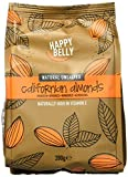 Amazon Brand - Happy Belly Whole Almonds, 500 g