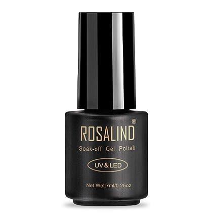 Toamen Esmalte De UñAs ROSALIND Nail UV Gel Polish Empapa De UñAs Gel Var (B