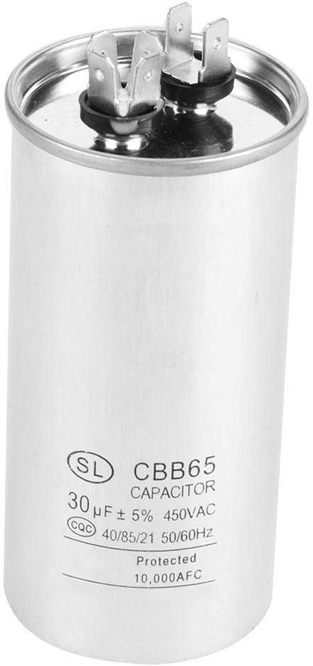 CBB65A-1 AC 450V 30uF 2pcs Condensateur de moteur pour le r/éfrig/érateur de climatiseur