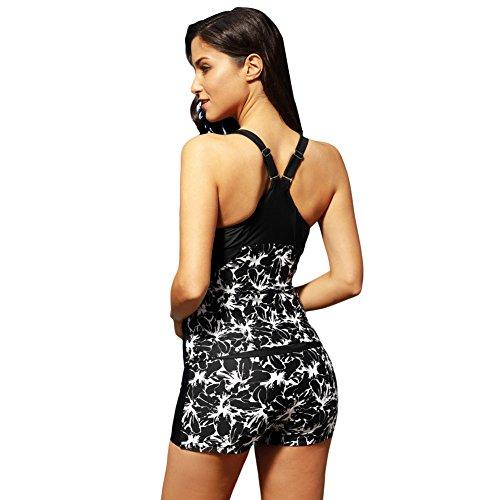 Intero Stampato Da Regolabile Quick Dry Costume Bagno Maniche Bikini Costume Regolabile Conservativo Bikini Girocollo Da XXL Costume Bagno Tracolla Elasticizzato Senza Bagno Da Formato Sexy Grande vtvq7wO
