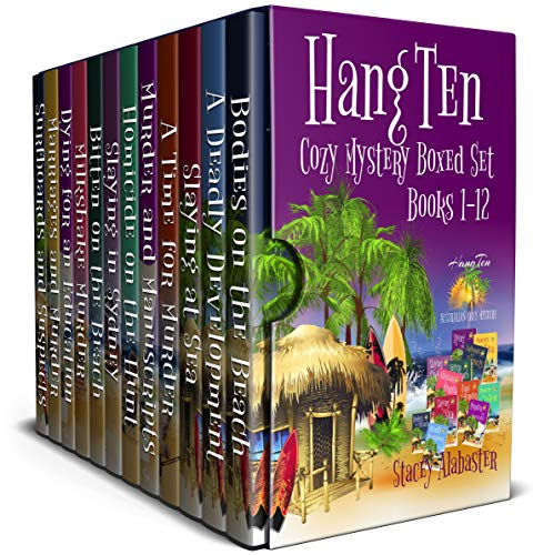 Hang Ten Australian Cozy Mystery Boxed Set: Books 1 - - 1 Boxed Set