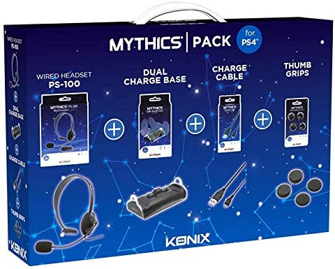No Name (foreign brand) PS4 - MYTHICS Accessories Pack: Amazon.es ...