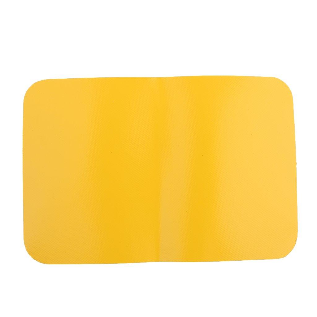 0,9 mm Barco Inflable Parche Balsa De Reparación De Canoa Kayak Solución Duradera - Rojo, 0.9mm Generic