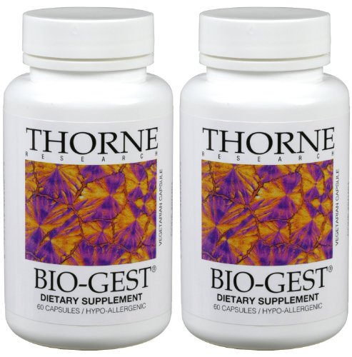 Bio Gest Thorne Research Vegetarian Capsules product image