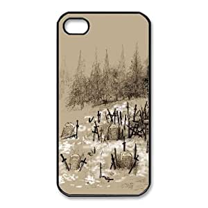 iPhone 4,4S Case Cell phone Case Dark Souls Plastic Zmyo Durable Cover