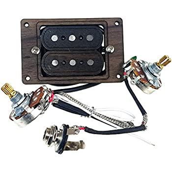 3 string cigar box guitar pickup with volume tone the electric delta no. Black Bedroom Furniture Sets. Home Design Ideas