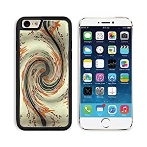Swirl Floral Pattern Art Design Punktail's Collections iPhone 6 Cover Premium Aluminium Design TPU Case Open Ports