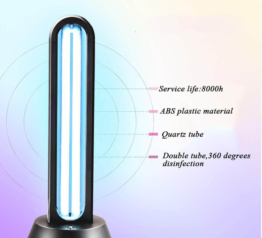 ufficio o camera telecomando ESTERILUV Lampada da casa sterilizzatore UV e ozono disinfettante e sterilizzante per spazi soggiorno