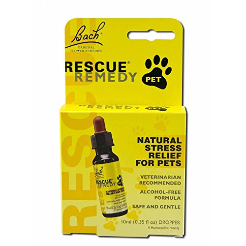 Bach Flower Remedies Rescue Remedy Stress Relief For Pets, 10 ML by Bach